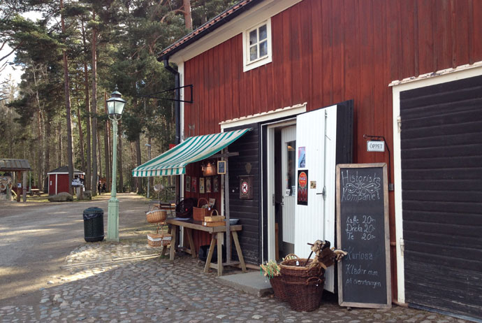 Linköping's old town has been turned into a living museum