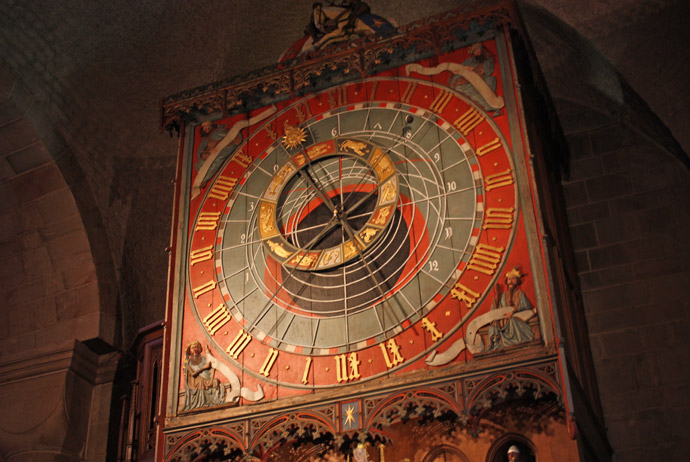 The astronomical clock in Lund