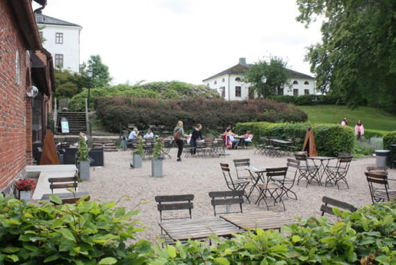 The café at Nääs Slott