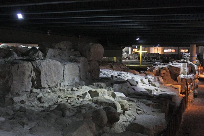 Drottens Church ruins in Lund