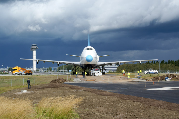 This airplane is home to one of the best hostels in Stockholm