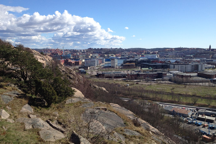 Ramberget in Gothenburg
