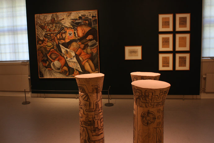 Mexican gallery at Skissernas Museum