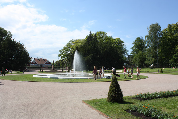 Stadsparken is a great park in Lund