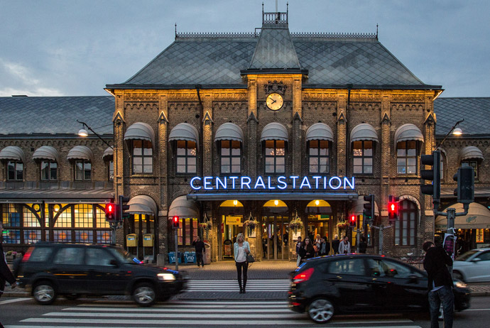 Gothenburg's central station