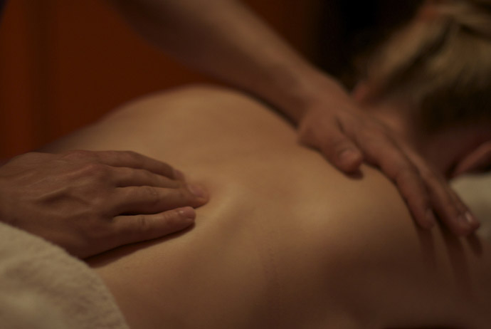 Getting a Swedish massage in Stockholm