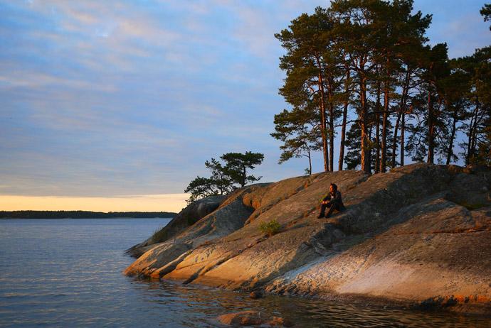 The island of Finnhamn, near Stockholm