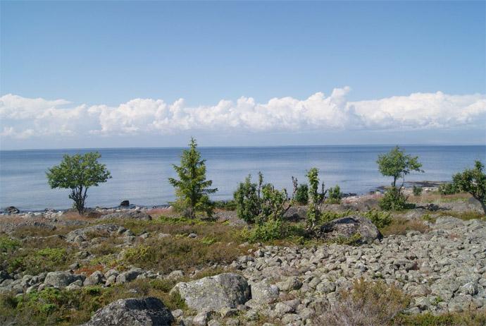 Holmön island in Sweden