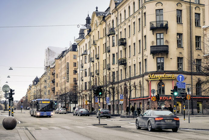 Odenplan in Vasastan, Stockholm