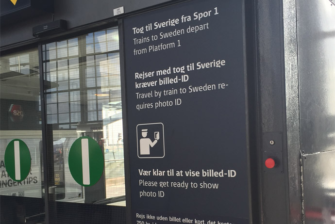 Border controls between Sweden and Denmark