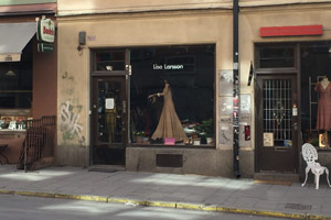 Lisa Larsson secondhand in central Stockholm