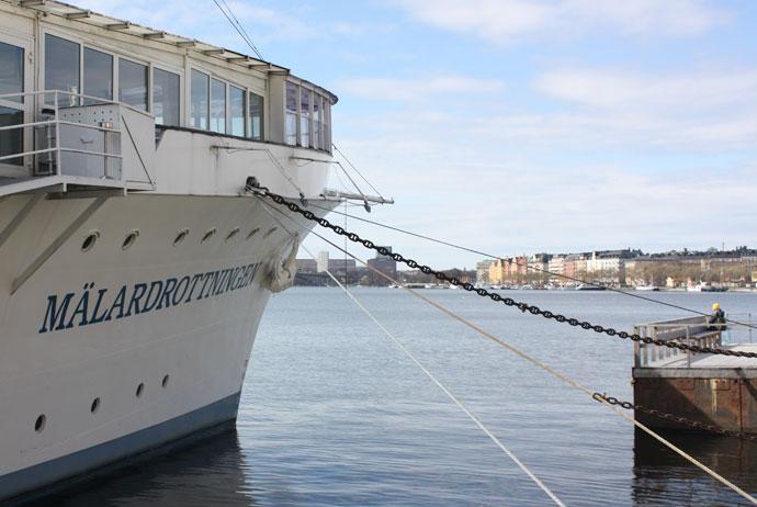 Mälardrottningen boat hotel