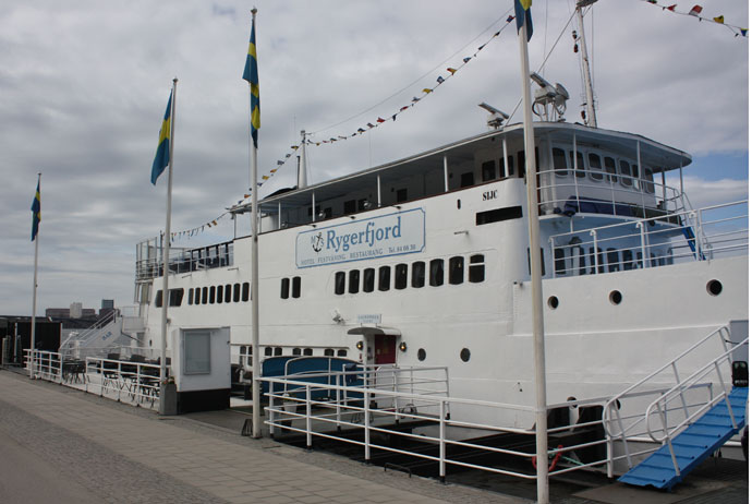 Rygerfjord is one of Stockholm's best boat hostels