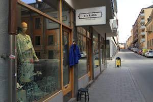 Siv & Åke is a cool vintage shop in Stockholm