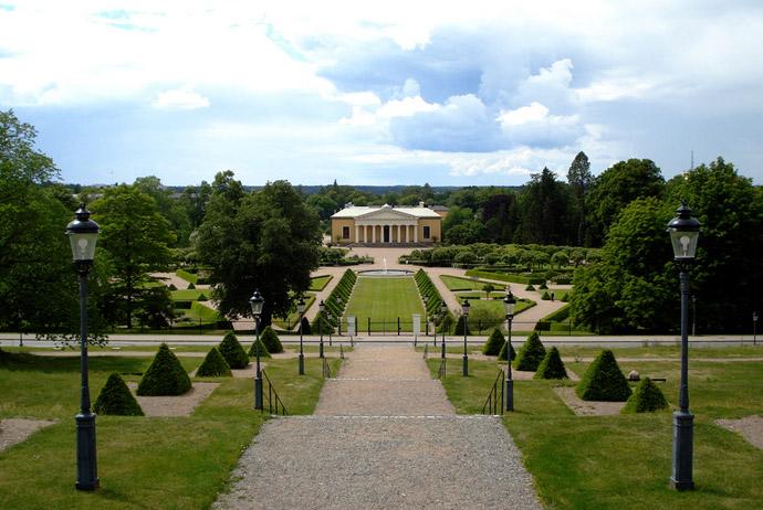 Uppsala's botanical gardens