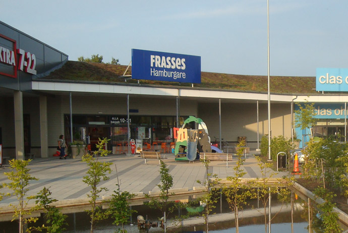 Frasses fast food restaurant in Sweden