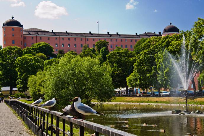 Stadsträdgården in Uppsala is free to visit