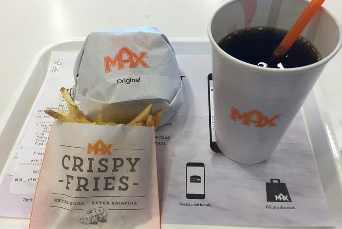 Max is a Swedish fast food chain