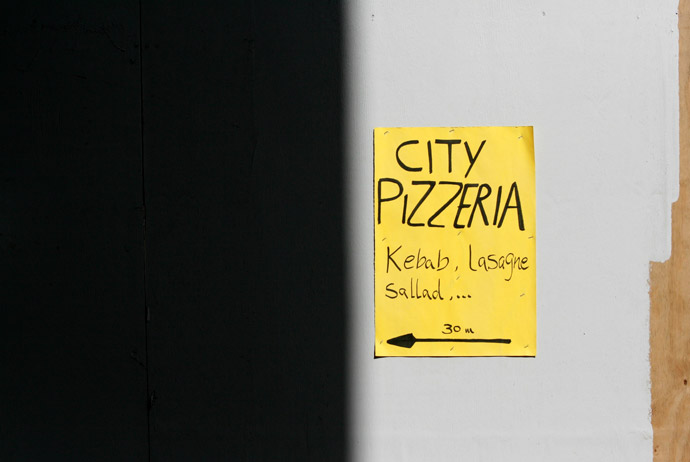 Pizzerias are popular in Sweden