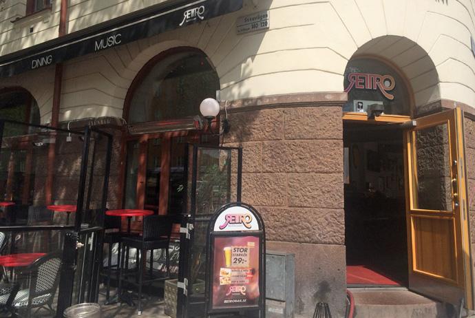 Retro Bar in Stockholm always has cheap beer