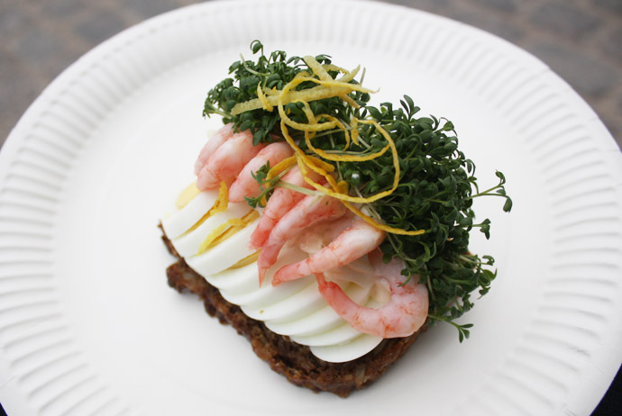 Smørrebrød is one of Copenhagen's cheapest and most delicious snacks