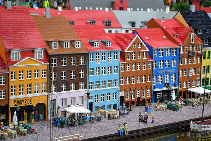 Legoland is possible to reach from Copenhagen within a day