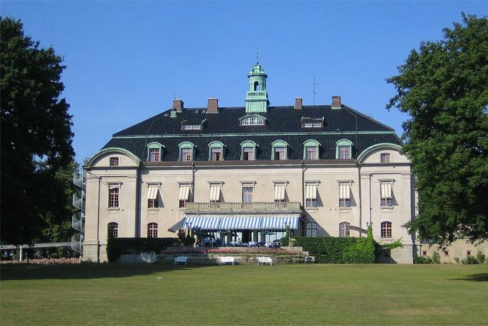 Örenäs Slott is an upscale hotel