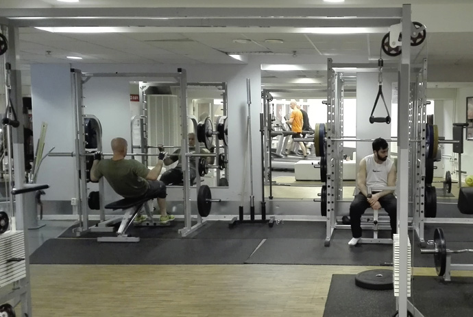 Friskis and Svettis is a cheap gym in Stockholm