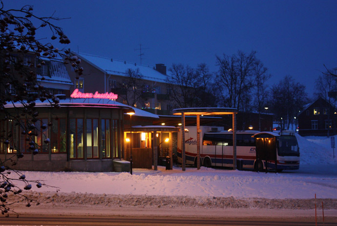 Getting from Kiruna to Narvik