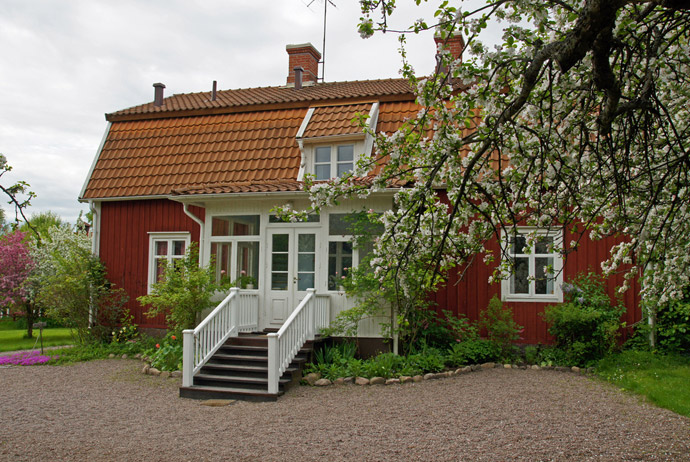 Astrid Lindgrens Näs is a good place to learn about Sweden's most famous kids' author