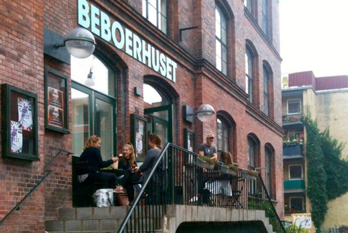 Beboerhuset is home to one of Copenhagen's coolest cafés