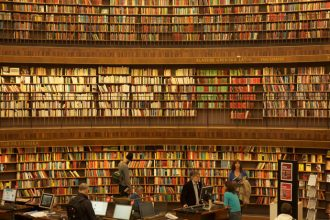 The city library in Stockholm
