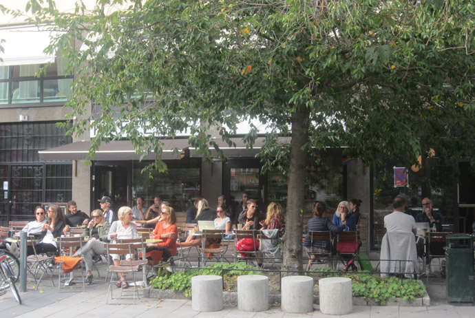 Mellkvist Kaffebar in Sweden