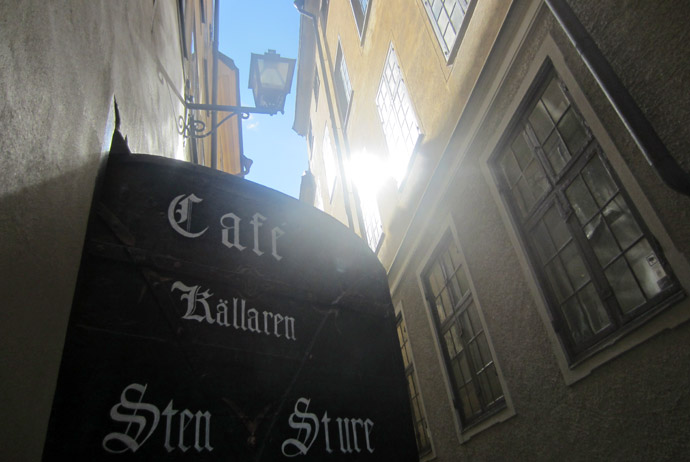 Café Sten Sture in Stockholm, Sweden