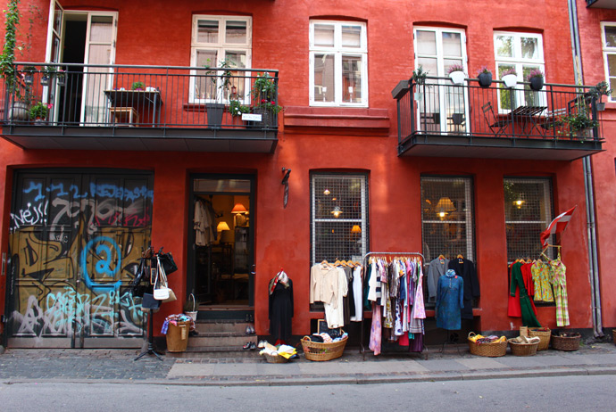 Just another second-hand shop in Nørrebro