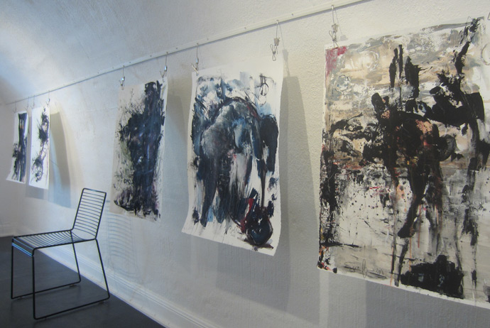 An independent gallery in Stockholm