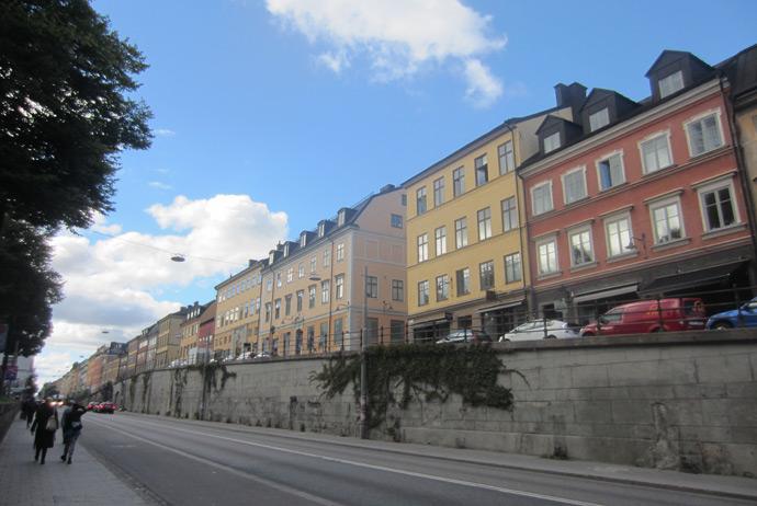 Hornsgatan art zone in Stockholm