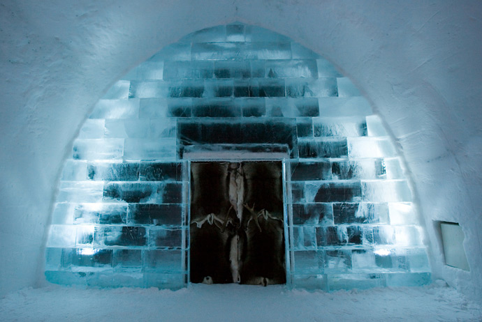 The Icehotel in Sweden is an amazing place to stay