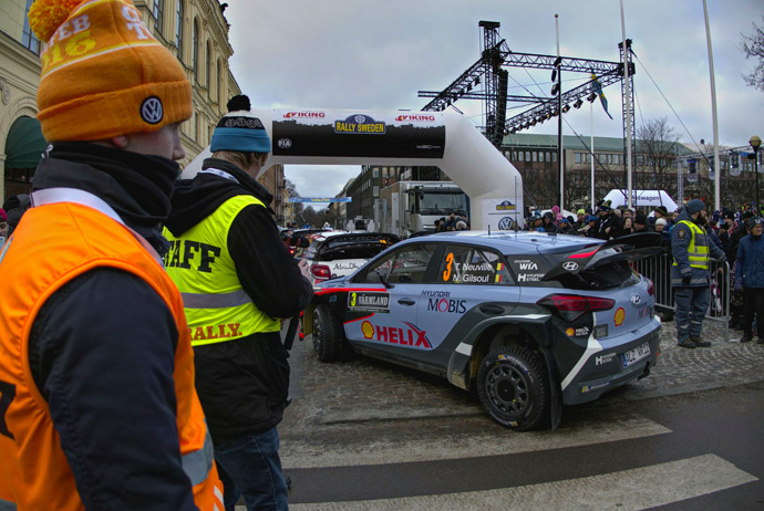 Rally Sweden in Karlstad