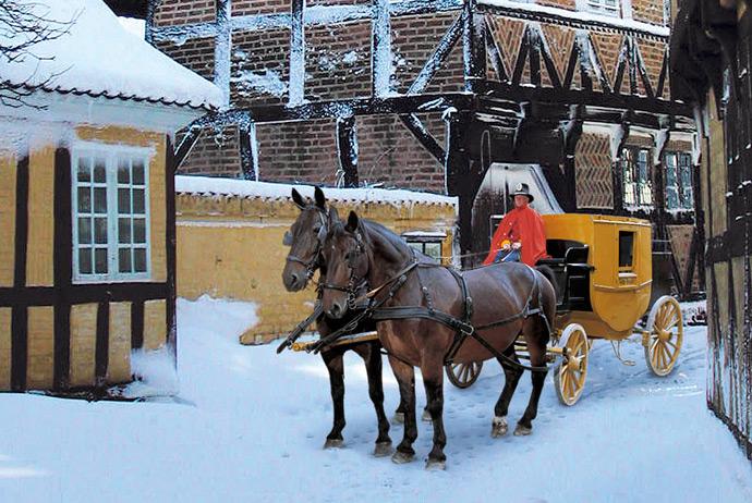 Christmas market in Aarhus