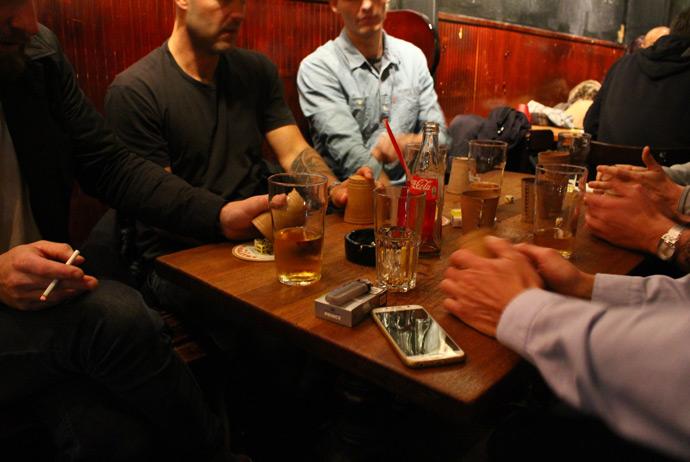 Smoking indoors is allowed at Byens Kro in Copenhagen