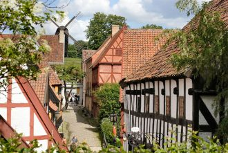 Den Gamle By is a cheap thing to do in Aarhus, Denmark