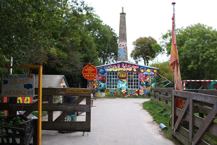 Copenhagen's hippie town, Christiania