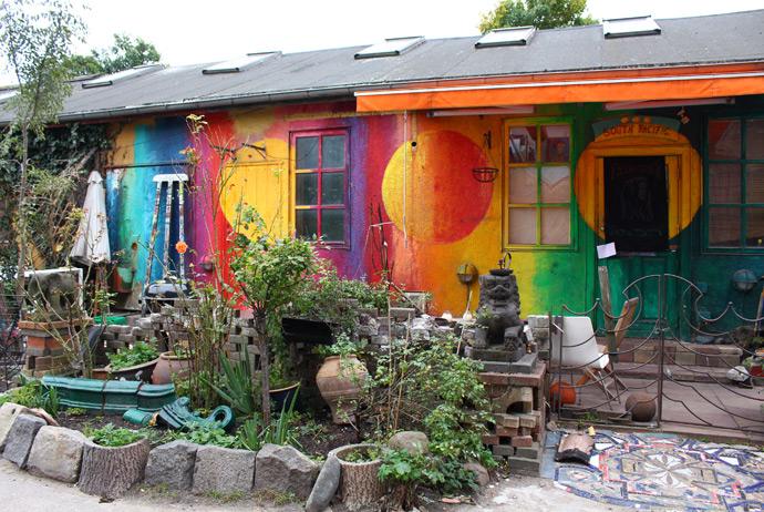 A house in Christiania, Copenhagen