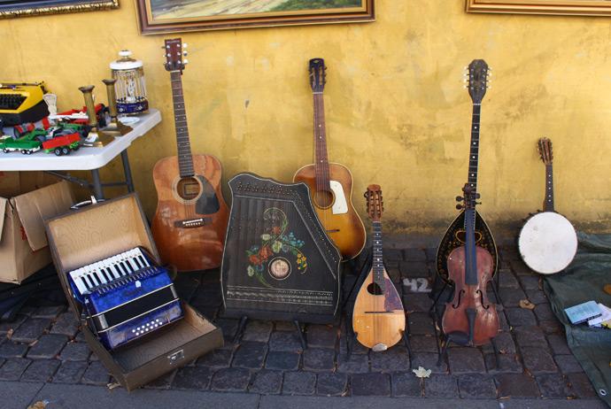 Nørrebrogade market in Copenhagen