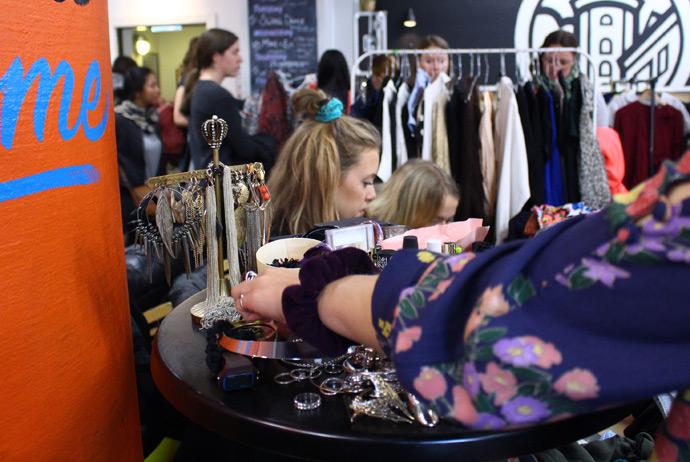 Studenterhuset is one of the best second-hand markets in Copenhagen