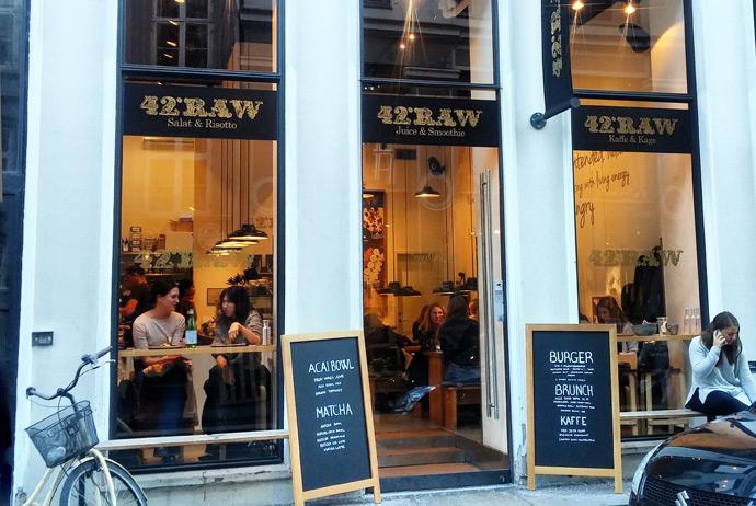42 Raw in Copenhagen sells gluten-free food