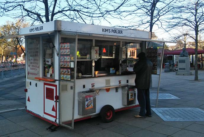 Gluten-free hot dogs in Copenhagen