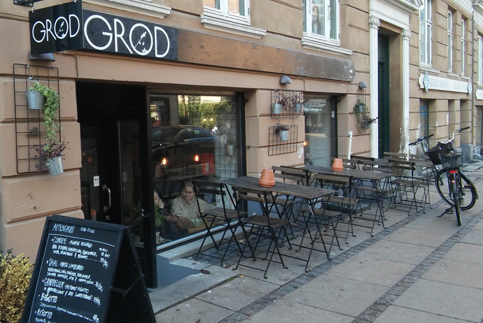 Grød restaurant in Copenhagen