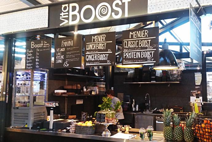Vita Boost in Copenhagen serves healthy gluten-free snacks